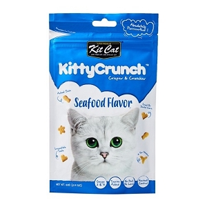 Kit Cat KittyCrunch Cat Bites (Seafood)
