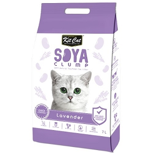 Kit Cat SoyaClump Soybean Litter Lavender