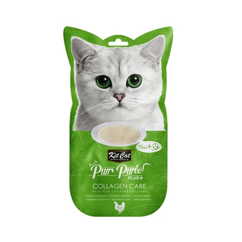 KitCat Purr Puree Plus+ Chicken & Collagen Care (Collagen Care)