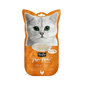 KitCat Purr Puree Plus+ Chicken & Fish Oil (Skin & Coat)