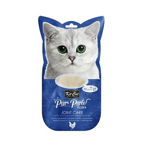 KitCat Purr Puree Plus+ Chicken & Glucosamine (Joint Care)