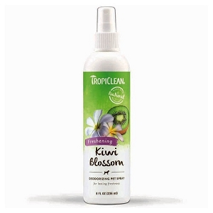 Tropiclean Kiwi Blossom Deodorizing Pet Spray 8oz