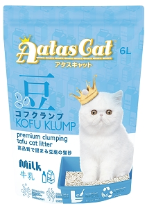 Aatas Cat Kofu Klump Tofu Cat Litter Milk 6L