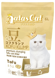 Aatas Cat Kofu Klump Tofu Cat Litter Tofu 6L