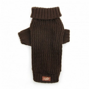 AFP Fisherman's Weave Sweater Chocolate XS