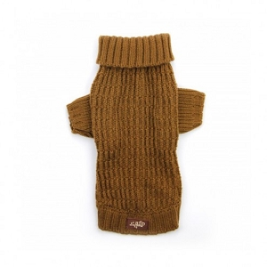 AFP Fisherman's Weave Sweater Coffee XS