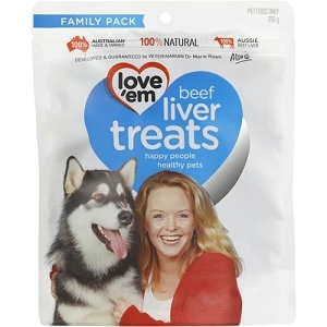 Love'em Beef Liver Dog Treats