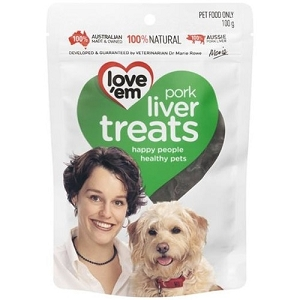 Love'em Pork Liver Dog Treats