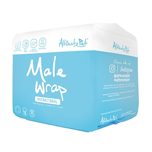 Altimate Pet Disposable Male Wraps
