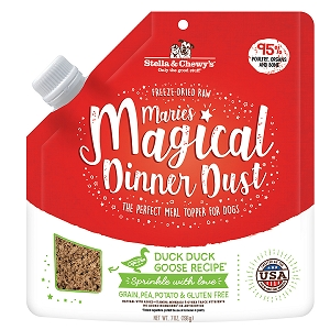 Stella & Chewy's Marie's Magical Dinner Dust Duck Duck Goose for Dogs