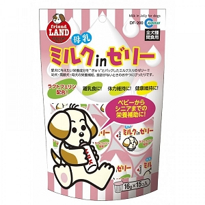 Marukan Milk Jelly for Dogs (Mother's Milk) 16gx15pcs