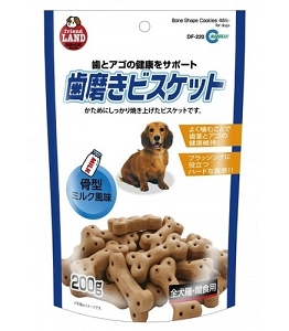 Marukan Bone Shape Milk Cookie Dog Treat DF220