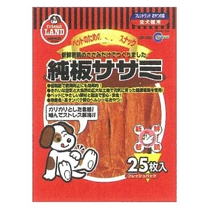 Marukan Dried Sasami Flat Dog Treat 25pcs DF30