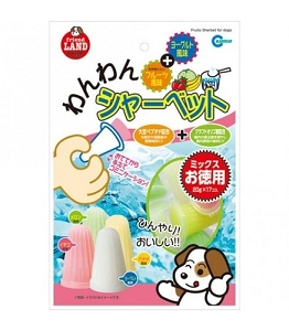 Marukan Fruits & Yogurt Sherbet Dog Treat 20gm x17 DP823