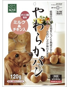 Marukan Milk & Chicken Soft Bread Dog Treat DP19