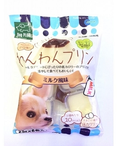 Marukan Milk Pudding Jelly For Dog Treat 25gm x 6pcs DP826