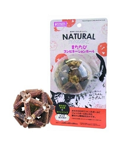 Marukan Natural Fragrance Catnip Stick Ball