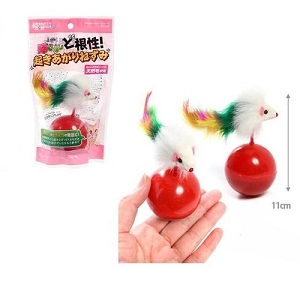 Marukan Pendulum Mouse Cat Toy