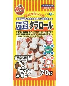 Marukan Sasami & Cod Fish Wrap Dog Treat DF42