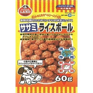 Marukan Sasami & Rice Ball Dog Treat DF38