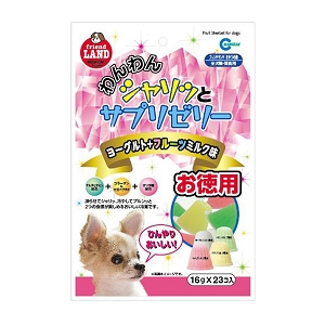 Marukan Tasty Fruits, Milk & Yogurt Sherbet Dog Treat 16gm x 23 DP811