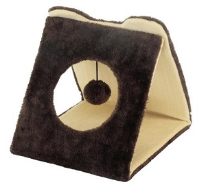 Marukan Triangle Tunnel Cat Scratcher