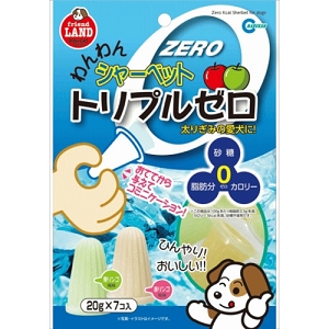 Marukan Zero Calorie Sherbet Dog Treat 20gm x 7 DP822