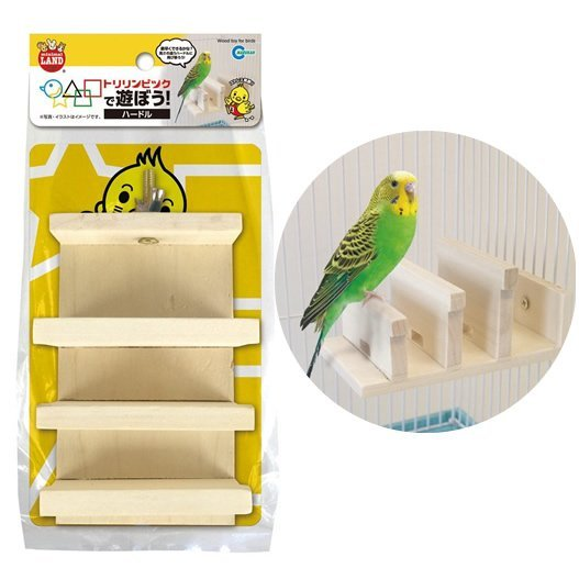 Marukan Wood Toy for Birds
