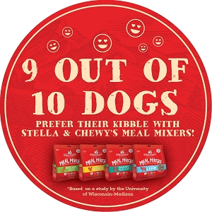 [Purchase with Purchase with any DRY Dog Food] Stella & Chewy's Mixer 3.5oz at $9.90!
