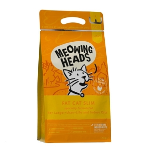 Meowing Heads Fat Cat Slim Light Dry Cat Food