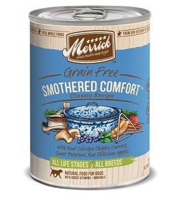 Merrick Canned Grain Free Smothered Comfort Classic Recipe