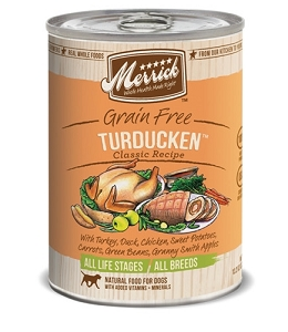 Merrick Canned Grain Free Turducken Classic Recipe