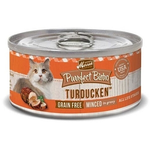 Merrick Canned Purrfect Bistro Grain Free Minced Turducken Cat Food