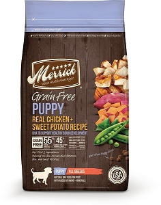 Merrick Puppy grainfree dry food