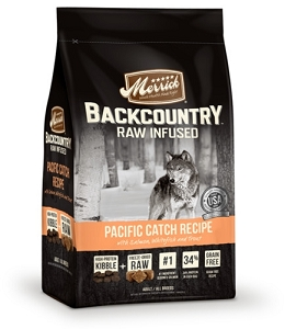 Merrick Grain Free Backcountry Raw Infused Pacific Catch Recipe Dry Dog Food