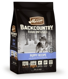 Merrick Grain Free Backcountry Raw Infused Puppy Recipe Dry Dog Food