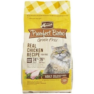 Merrick Purrfect Bistro Grain Free Healthy Adult Chicken Dry Cat Food