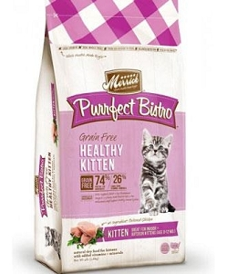 Merrick Purrfect Bistro Grain Free Healthy Kitten Dry Cat Food