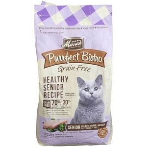 Merrick Purrfect Bistro Grain Free Healthy Senior Dry Cat Food