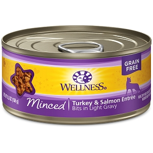 Wellness Canned Cat Complete Health™ Minced Turkey & Salmon Entrée