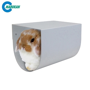 Marukan Aluminium Tunnel for Rabbit 28x18x18cm