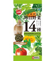 Marukan Daily Veggies 14 Maintenance for Rabbit 650g