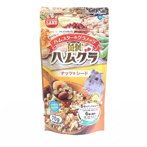 Marukan Granola With Nuts And Seed For Hamster 70g