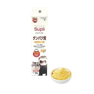 Marukan Minimal Supli Cheese Flavour Paste Type for Small Animals 50g