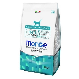 Monge Kitten Chicken Dry Cat Food 1.5kg
