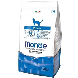 Monge Urinary Chicken Dry Cat Food 1.5kg