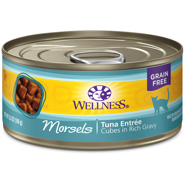 Wellness Canned Cat Complete Health™ Morsels Tuna Entrée