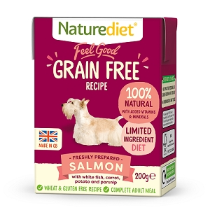 Naturediet Feel Good Grain Free Dog Food - Salmon
