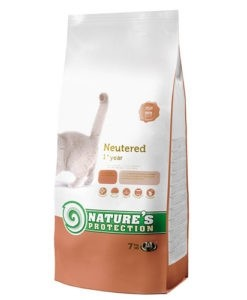 Nature Protection Neutered Dry Cat Food