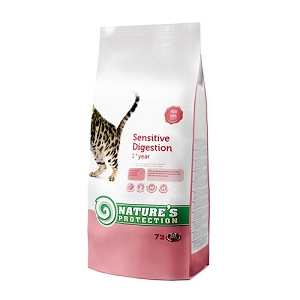 Nature Protection Sensitive Digestion Dry Cat Food